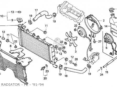 Honda Cbr600f2 Super Sport 1991 Usa parts list partsmanual