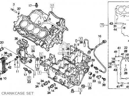 Honda CBR600F2 SUPERSPORT 1994 (R) USA parts lists and