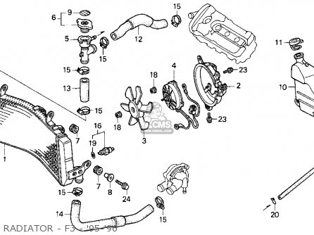 Honda Cbr600f3 Super Sport 1995 Usa parts list partsmanual