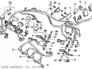Honda Cbr600f3 Super Sport 1995 Usa parts list partsmanual