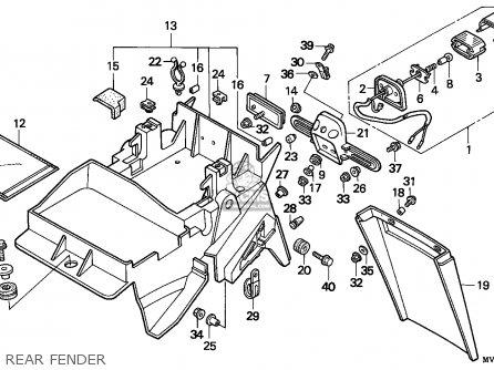 Honda CBR600F3 SUPERSPORT 1995 (S) CANADA / MKH parts