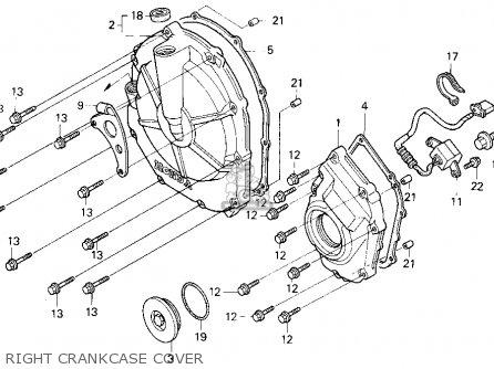 Honda Cbr600f3 Supersport 1995 (s) Usa parts list