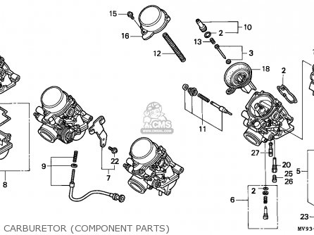 Honda CBR600F3 SUPERSPORT 1996 (T) CANADA / MKH parts
