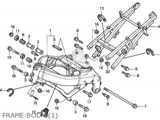 Honda Cbr600f4 Supersport 1999 (x) Canada parts list
