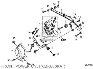 Honda CBR600RA 2011 (B) FRANCE / TYPE 3 ABS CMF parts