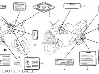 Honda CBR600RR 2003 (3) GERMANY parts lists and schematics