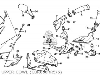 Honda CBR600RR 2005 (5) BRAZIL parts lists and schematics