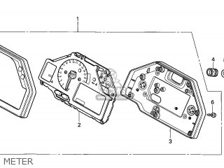 Honda CBR600RR 2005 (5) EUROPEAN DIRECT SALES parts lists