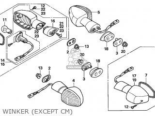 Honda CBR600RR 2005 (5) IRELAND parts lists and schematics