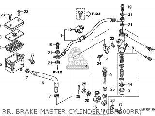 Honda CBR600RR 2011 (B) ENGLAND parts lists and schematics