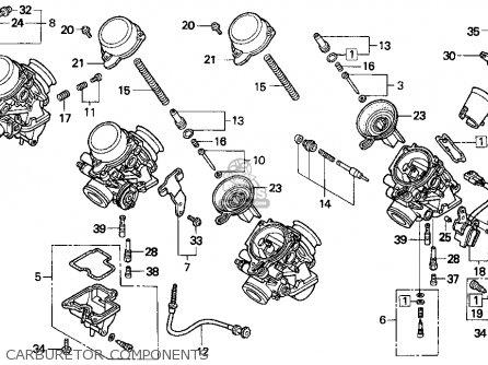Honda Cbr900rr 1995 (s) Usa California parts list