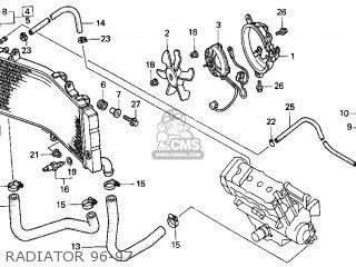 Honda CBR900RR 1996 (T) USA CALIFORNIA parts lists and
