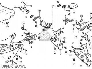 Honda Cbr900rr Cbr 1998 Usa parts list partsmanual partsfiche