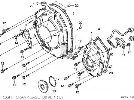 Honda CBR900RR FIREBLADE 1993 (P) ENGLAND parts lists and