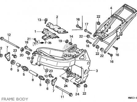 Honda CBR900RR FIREBLADE 1994 (R) AUSTRIA parts lists and