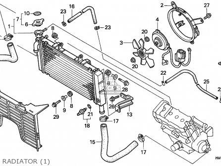 Honda Cbr900rr Fireblade 1994 (r) Austria parts list