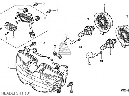 Honda CBR900RR FIREBLADE 1994 (R) GERMANY / TYPE 2 50P