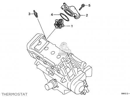 Honda Cbr900rr Fireblade 1996 (t) England parts list