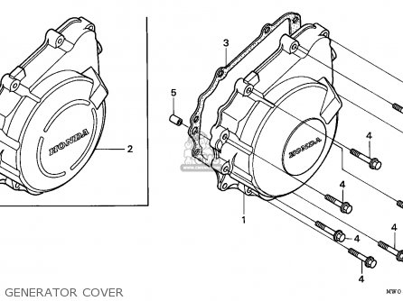 Honda CBR900RR FIREBLADE 1996 (T) NORTHERN EUROPE parts