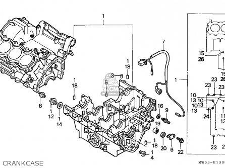 Honda CBR900RR FIREBLADE 1997 (V) ENGLAND parts lists and