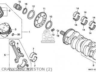 Honda CBR900RR FIREBLADE 1997 (V) SINGAPORE parts lists