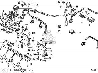 Honda CBR900RR FIREBLADE 1999 (X) CANADA / KMH parts lists