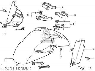 Honda Cbr900rr Fireblade 1999 (x) England / Mkh parts list