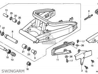 Honda CBR900RR FIREBLADE 1999 (X) ENGLAND / MKH parts