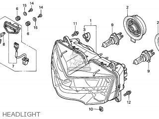 Honda CBR900RR FIREBLADE 1999 (X) EUROPEAN DIRECT SALES