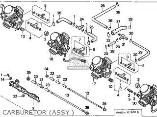 Honda Cbr900rr Fireblade 1999 (x) France / Kph parts list