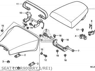 Honda CBR900RR FIREBLADE 2000 (Y) ENGLAND / HB parts lists