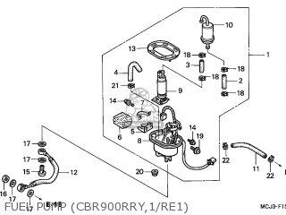 Honda CBR900RR FIREBLADE 2001 (1) GERMANY parts lists and