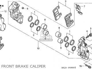 Honda CBR900RR FIREBLADE 2003 (3) CANADA / LL REF parts