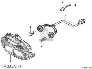 Honda CBR900RRX FIREBLADE 1999 (X) BRAZIL / KPH parts