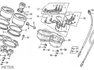 Honda CBX1000 SUPERSPORT 1979 (Z) AUSTRALIA parts lists