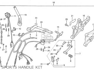Honda CBX1000 SUPERSPORT 1979 (Z) CANADA parts lists and