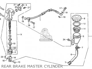 Honda CBX1000 SUPERSPORT 1979 (Z) ENGLAND parts lists and