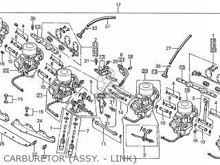 Honda Cbx1000 Supersport 1979 (z) France parts list