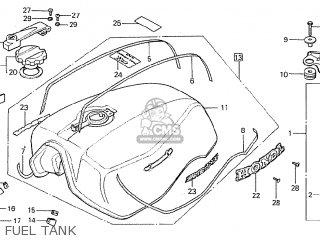 Honda CBX1000 SUPERSPORT 1979 (Z) FRANCE parts lists and