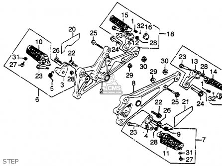 Wiring Diagram Honda Cx500 Honda CX500 Engine Wiring