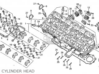 Honda Cbx 1000 Engine, Honda, Free Engine Image For User