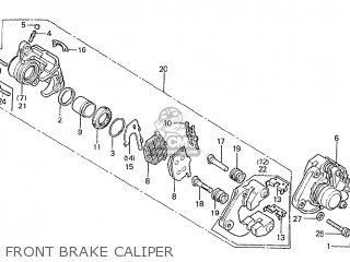 Honda Cbx1000 Supersport 1980 (a) France parts list