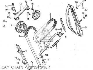 Honda Cbx1000 Supersport 1980 (a) Germany parts list