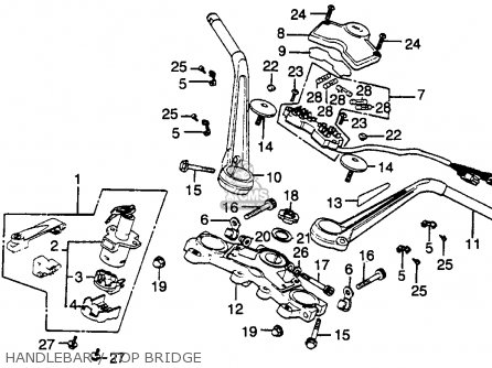 Honda CBX1000 SUPERSPORT 1980 (A) USA parts lists and