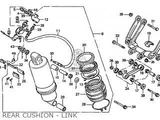 Honda Cbx1000 Supersport 1981 (b) Australia parts list