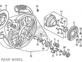 Honda Cbx1000 Supersport 1981 (b) Canada parts list