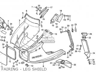 Honda CBX1000 SUPERSPORT 1981 (B) ENGLAND parts lists and