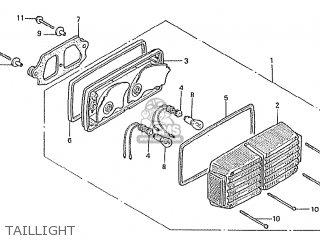 Honda Cbx1000 Supersport 1981 (b) France parts list