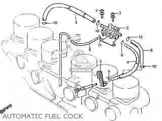 Honda Cbx1000 Supersport 1981 (b) Germany parts list