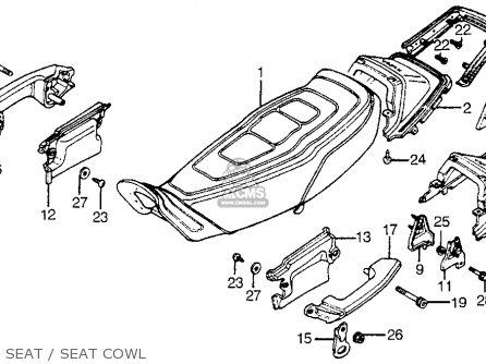 Honda Cbx1000 Supersport 1981 (b) Usa parts list